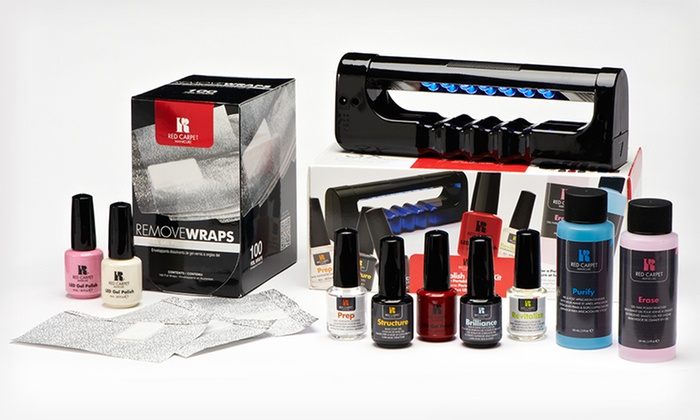 Red Carpet 11-Piece Complete Gel Manicure Kit: Red Carpet Complete Gel Manicure Kit