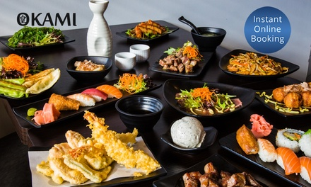 AllYouCanEat Japanese + Sake $55.50 or 6 $163 at Okami Japanese Restaurant Camberwell Up to $163 Value