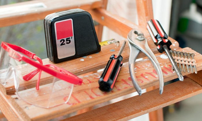 JW the Handyman - Knoxville: Two, Four, or Six Hours of Handyman Services from JW the Handyman (Up to 56% Off)