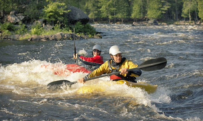 River Guide Kayaks - River Falls: Three-Hour Kayaking Trip for Two or Four from River Guide Kayaks in River Falls (Up to 51% Off)