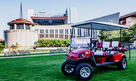 Sightseeing or Brewery Tour or Bar-Golf Party for Four from Joyride Nashville (Up to 64% Off)