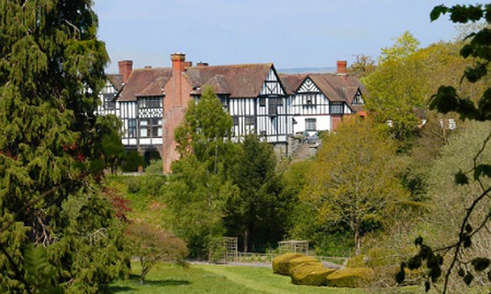 Caer Beris Manor - Builth Wells: Powys: 1 or 2 Nights For Two With Breakfast and 7-Course Tasting Menu from £99 at Caer Beris Manor Hotel (Up to 63% Off)