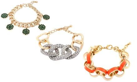 Crystal or Enamel Charm Bracelets