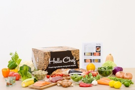 Hello Chef!: One Week of Delivery of Subscription Cook-at-Home Meals for Up to Four People from Hello Chef (50% Off)