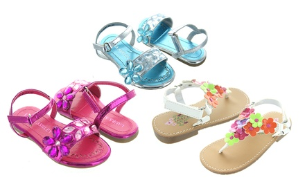Laura Ashley Girls' Sandals