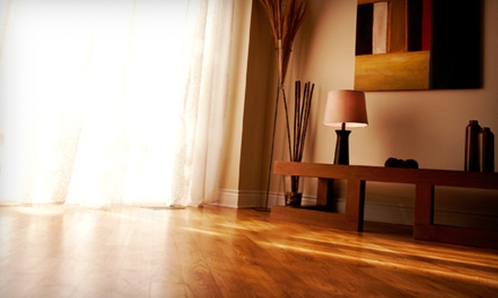 Pure Fabric & Floor Care - Denver: Hardwood Floor Sanding, Staining, and Refinishing from Pure Fabric & Floor Care (Up to 64% Off). Two Options Available.
