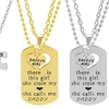 His and Hers, Daddy's Girl, or Puzzle Piece Necklace Set