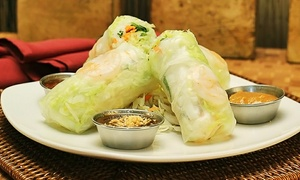 Thai Siam Restaurant: Thai Food at Thai Siam Restaurant (Up to 45% Off). Two Options Available.