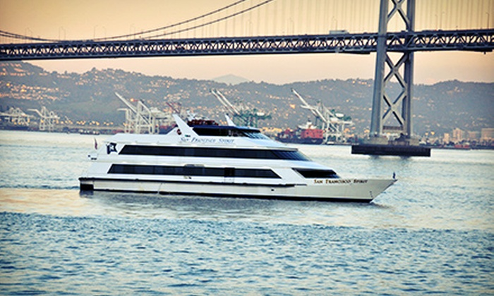 Hornblower Cruises & Events - The Embarcadero: Viewing Cruise of Louis Vuitton Cup Finals or America's Cup Finals from Hornblower Cruises & Events (Up to 41% Off)