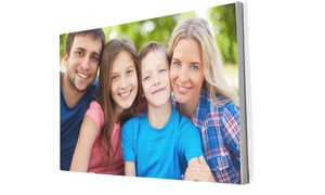 Something 2 Talk About: Two A3 Block-Mounted Full Colour Canvas Prints from R299 with Something 2 Talk About (Up to 56% Off)