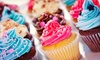 Wah-Wah's Cakes - Morningside Heights: $19 for a Holiday-Cupcake Assortment with 12 Large Cupcakes and 12 Mini Cupcakes from Wah-Wah's Cakes (Up to $83 Value)