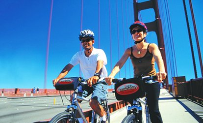 image for Mountain or Hybrid Bike Rental or Three-Hour Guided Bike Tour for Two at Blazing Saddles (Up to 50% Off)