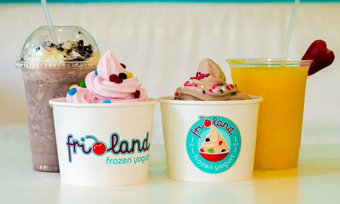 Frioland - Plantation: $12 for Four Groupons, Each Good for $6 Worth of Frozen Yogurt and Smoothies at Frioland ($24 Value)