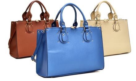 Endeavor Lock Satchel Bag