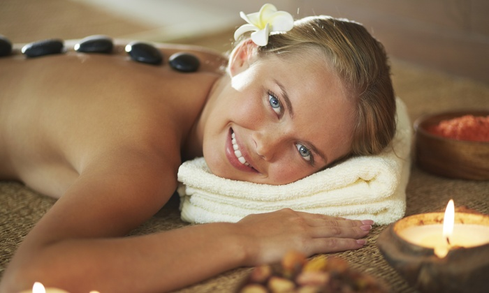 Spa Amore - Corporate Woods: 60- or 90-Minute Hot-Stone Massage with Aromatherapy at Spa Amore (Up to 52% Off)