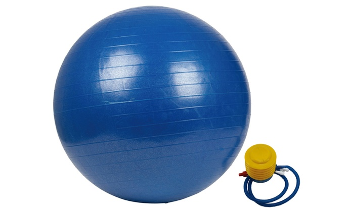 Yoga Exercise Ball with Pump