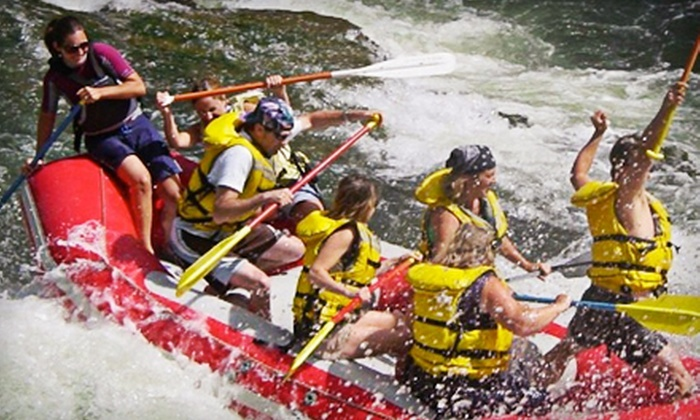 Wiley E. Waters - Post Falls-Rathdrum: $259 for Full-Day Whitewater-Rafting Trip with Food and Beverages for Up to Six from Wiley E. Waters ($534 Value)