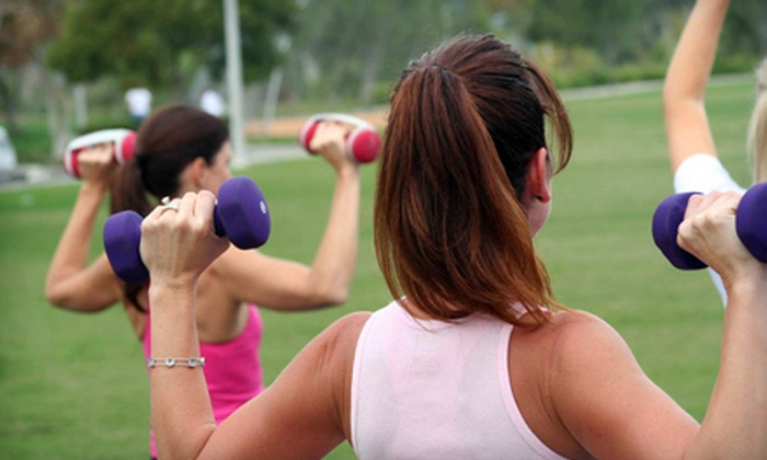 Code Pink Boot Camp - Multiple Locations: $49 for One Month of Boot-Camp Classes from Code Pink Boot Camp ($179 Value)