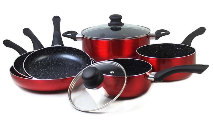 Batterie de cuisine ustensiles ou poêles Cenocco coloris au choix dès 1490€ (jusquà 85% de rduction)