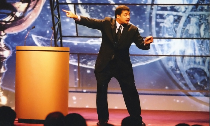 "Neil deGrasse Tyson: ""An Astrophysicist Goes to the Movies"" - NJPAC: Neil deGrasse Tyson at New Jersey Performing Arts Center on December 2 at 8 p.m. (Up to 49% Off)"