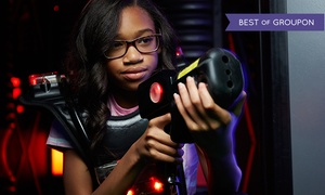 Long Island's Laser Bounce: Unlimited Laser Mania Package with Snacks & Drinks for One or Two at Long Island's Laser Bounce (Up to 58% Off)