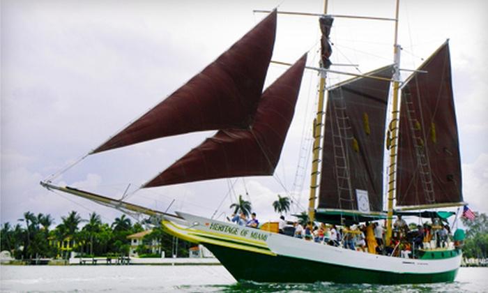 Miami Aqua Tours - Bayside: $34 for a Champagne Cruise from Miami Aqua Tours ($69 Value)