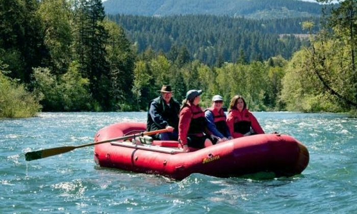 North Santiam River Trips - North Santiam River Trips: One Full Day of White Water Rafting for Four or Six from North Santiam River Trips (Up to 50% Off)