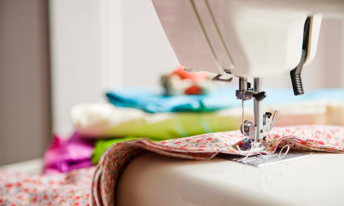 Newton Sewing Studio - Newtonville: Pillow, Handbag, or Zipper Pouch Sewing Class Party at Newton Sewing Studio (Up to 55% Off)