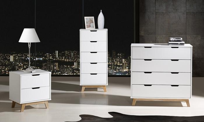 Colecci n de muebles groupon goods - Ikea mesitas de noche y comodas ...