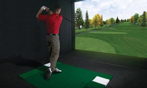 Golf-O-Max: C$39 for an Indoor Golf Round for Two with Drinks at Golf-O-Max in Dorval (Up to C$80.15 Value)