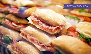 Ginos Market: $55 for $80 Worth of Butcher, Deli, and Bakery Items at Gino's Italian Market