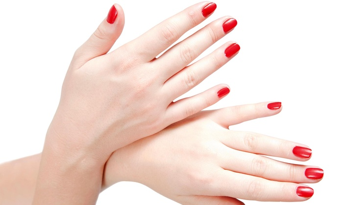 Nails By Jessica @ Salon Serendipity - Lockeford: A Manicure with Nail Design from Nails by Jessica @ Salon Serendipity  (50% Off)