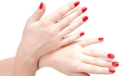 A Manicure with Nail Design from Nails by Jessica @ Salon Serendipity  (50% Off)