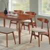 Dining Room Set in Medium Oak (6-Piece)