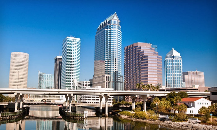 Chase Suite Hotel Tampa - Town N County Alliance: $64 for a One-Night Stay with Park 'N Fly Package at Chase Suite Hotel Tampa (Up to $109 Value)