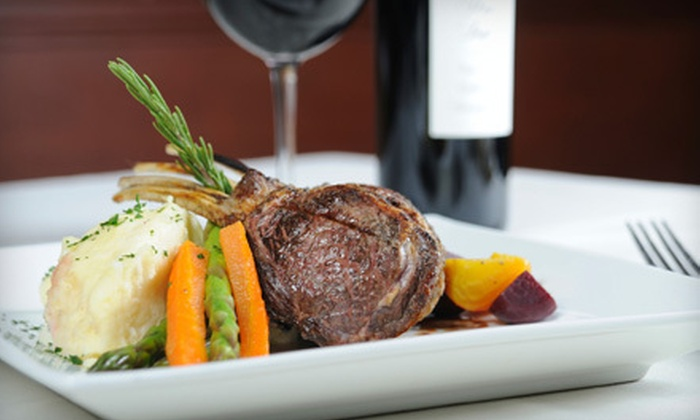 Rick's Cafe - Clifton: $29 for $60 Worth of Contemporary American Dinner and Wine for Two at Rick's Cafe in Staten Island ($74 Value)