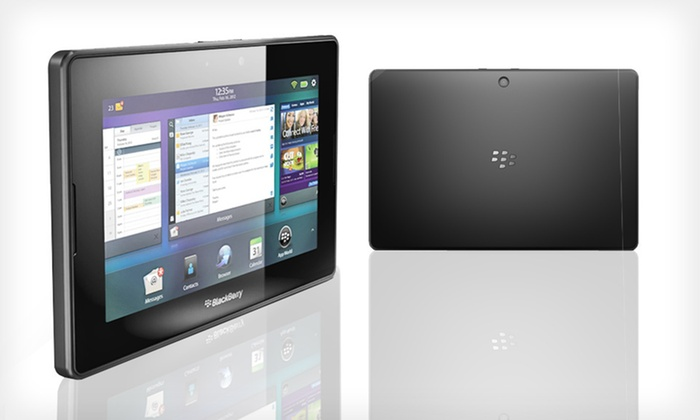 """BlackBerry PlayBook 7"""" 32GB Tablet: $179 for a BlackBerry PlayBook 7-Inch 32GB Tablet ($599 List Price). Free Shipping and Free Returns."""