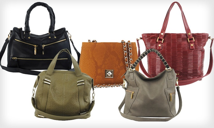 R&J Handbags Totes and Satchels: $35 for an R&J Handbags Tote or Satchel (Up to $108 List Price). Multiple Styles and Colors Available. Free Shipping.