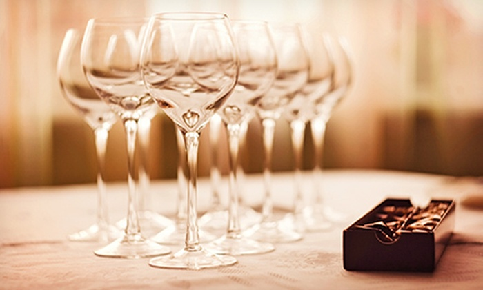 Parties by Dixon - Tampa Bay Area: $39 for an On-Location Wine-and-Chocolate Tasting for Six from Parties by Dixon ($250 Value)