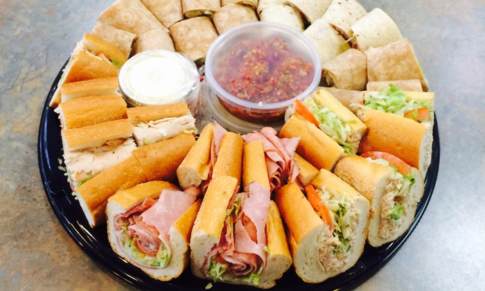 Lee's Hoagie House - Multiple Locations: $48 for Small Catering Tray of Custom-Made Hoagies for Up to 12 People at Lee's Hoagie House ($59.95 Value)