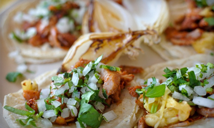 Jalapenos Mexican Restaurant - Multiple Locations: Mexican Food and Drinks at Jalapenos Mexican Restaurant (Up to 52% Off). Two Options Available.