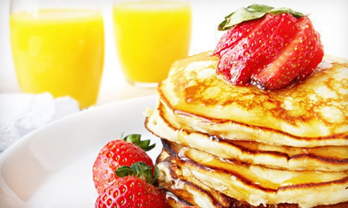 Rising Loafer Cafe & Bakery - Danville: $17 for Brunch Entrees and Mimosas for Two at Rising Loafer Cafe & Bakery (Up to $34.50 Value)