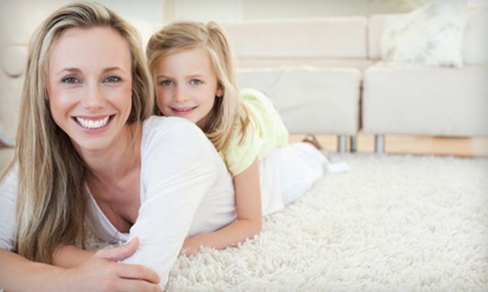 B&H Carpet Cleaning - West Village: $59 for Carpet Cleaning for Two Rooms at B&H Carpet Cleaning ($195 Value)