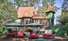 Hexenhaus - Hexenhaus: Winterlicher Schlemmer-Lunch mit Gänsekeule oder Rotwildgulasch für 2 oder 4 Personen im Hexenhaus (51% sparen*)