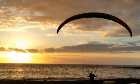 Vuelo de iniciación, didáctico o acrobático en parapente para 1 persona desde 49,90 € en Vuelo Parapente Oferta en Groupon