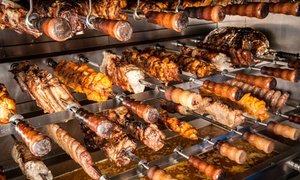 Rio Grande Churrascaria: Rodízio-Style Brazilian Steakhouse Meal for Two or Four at Rio Grande Churrascaria (25% Off)