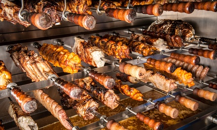 Rodízio-Style Brazilian Steakhouse Meal for Two or Four at Rio Grande Churrascaria (25% Off)