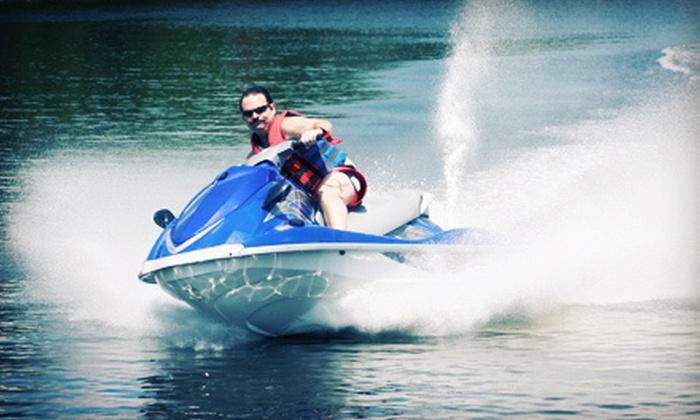 Doctor Jet Ski & Boat Rental - Bella Vista: $60 for a One-Hour Yamaha WaveRunner Rental from Doctor Jet Ski & Boat Rental (Up to $125 Value)