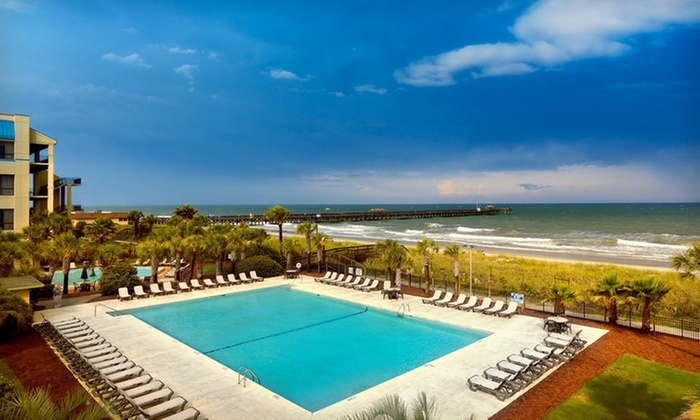 Springmaid Beach Resort - Myrtle Beach, SC: One-Night Stay with Breakfast for Two and $15 Dining or Fishing Credit at Springmaid Beach Resort in Myrtle Beach, SC