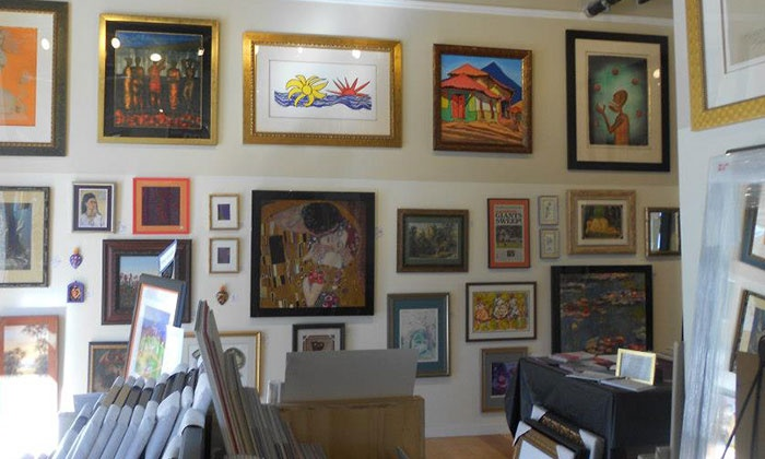 Back to the Picture - SOMA: $39 for $100 Worth of Custom Framing at Back to the Picture